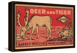 Deer And Tiger Safety Matches