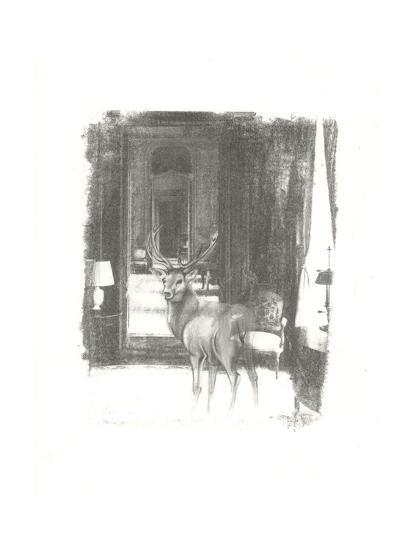 Deer II-Arielle Adkin-Art Print