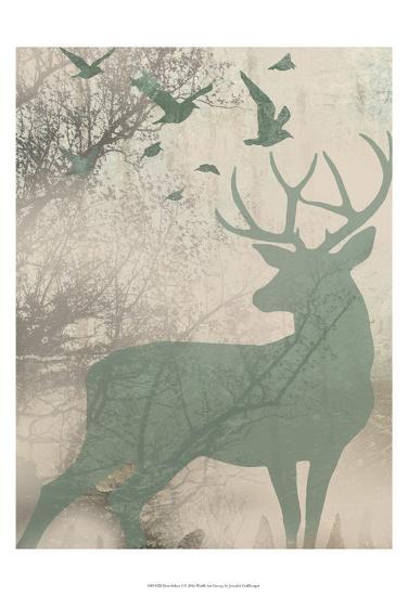 Deer Solace I-Jennifer Goldberger-Art Print