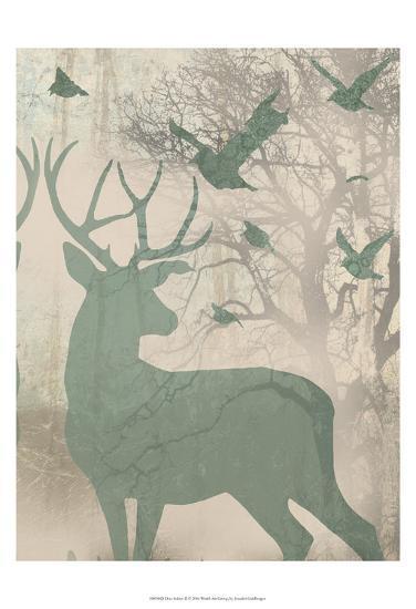 Deer Solace II-Jennifer Goldberger-Art Print