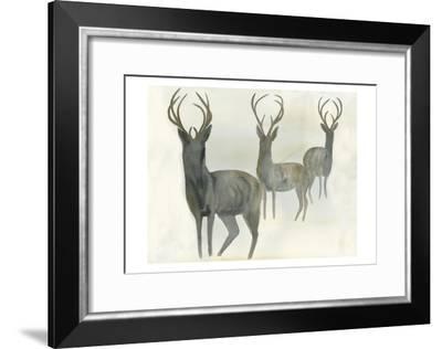 Deer Trio-Beverly Dyer-Framed Art Print