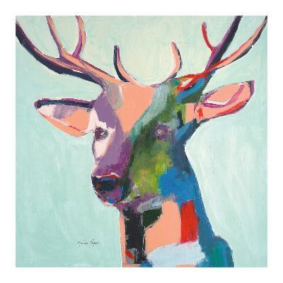 Deer-Melissa Lyons-Art Print