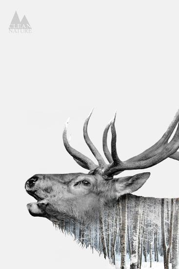 Deer-PhotoINC-Art Print