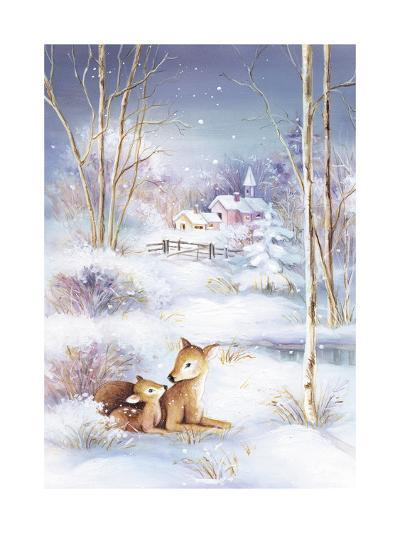 Deer-DBK-Art Licensing-Giclee Print