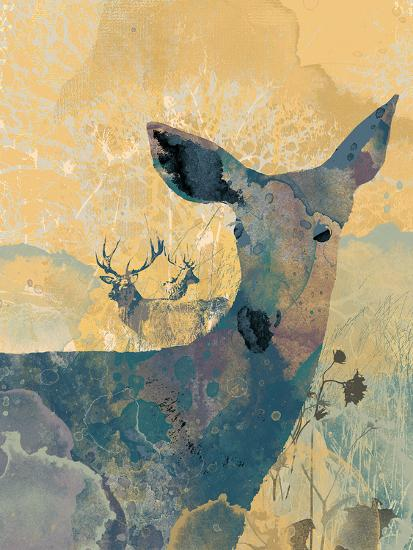 Deerhood I-Ken Hurd-Giclee Print