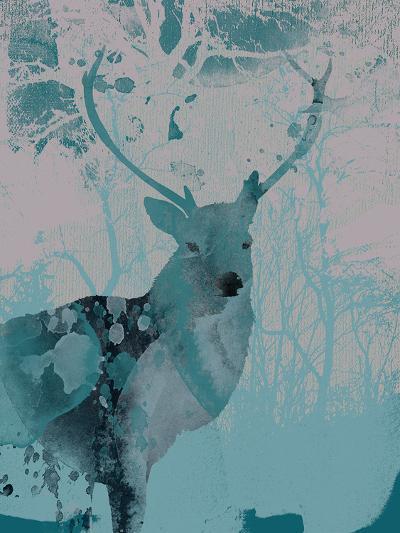 Deerhood II-Ken Hurd-Giclee Print