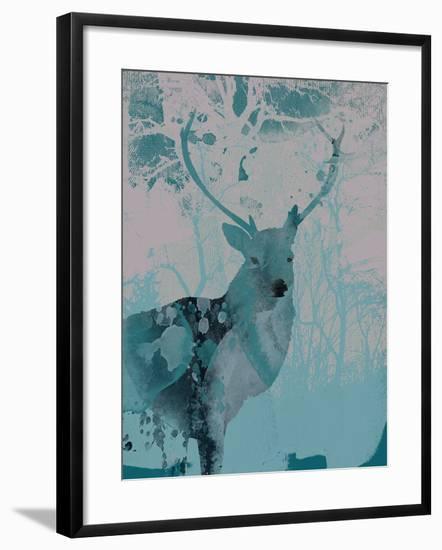 Deerhood II-Ken Hurd-Framed Giclee Print