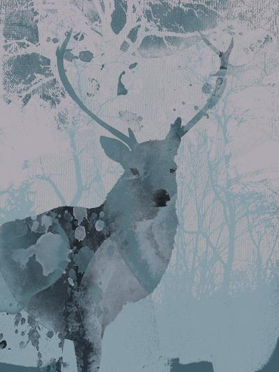 Deerhood II-Ken Hurd-Art Print