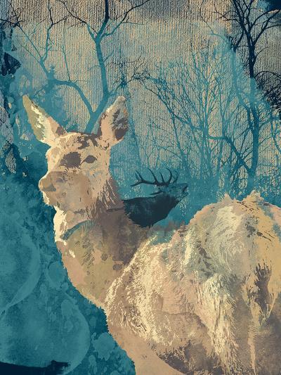 Deerhood IV-Ken Hurd-Giclee Print