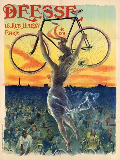 Déesse Cycles-Jean de Paleologu (PAL)-Art Print
