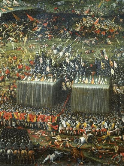 Defeat and Flight of Hungarian and Bohemian Armies Defeated by Imperial Army--Giclee Print