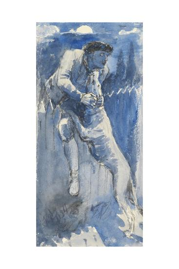 Defence, C.1849-50-John Everett Millais-Giclee Print