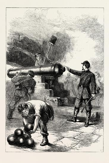 Defence of Fort Sumter--Giclee Print