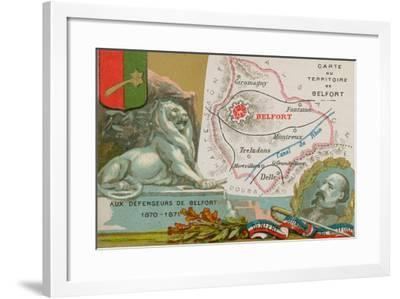 Defenders of Belfort--Framed Giclee Print
