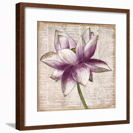 Defined Lotus I-Patricia Pinto-Framed Premium Giclee Print