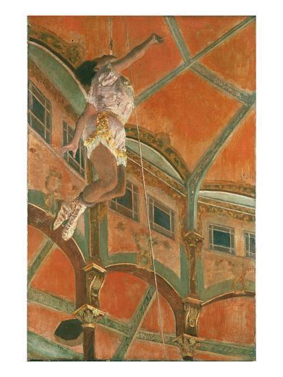 Degas: Miss La La-Edgar Degas-Giclee Print