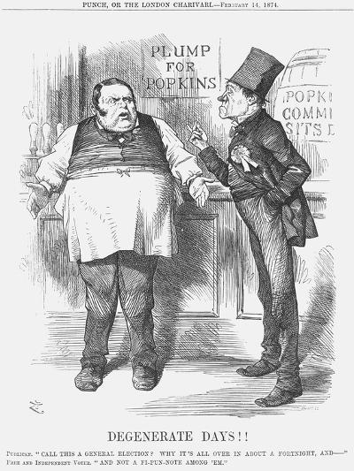 Degenerate Days!!, 1874-Joseph Swain-Giclee Print