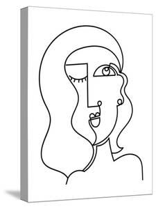 Loopy Line Lady II by Deidre Mosher