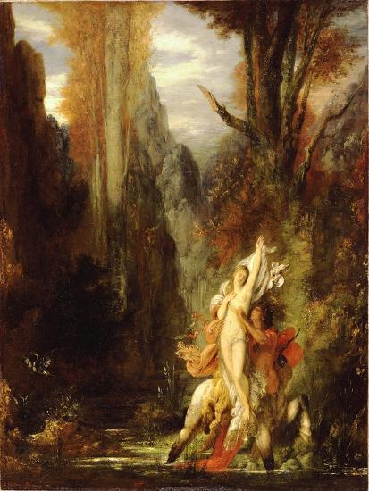 Dejanira (Autumn), c.1872-3-Gustave Moreau-Giclee Print