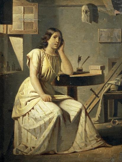 Dejected Art, 1876-Angelo Recchia-Giclee Print