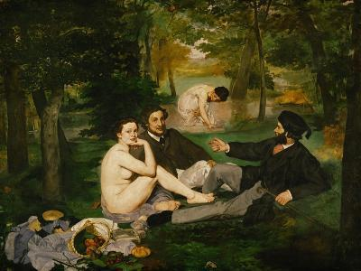 Dejeuner Sur L'Herbe (Luncheon on the Grass), 1863-Edouard Manet-Giclee Print
