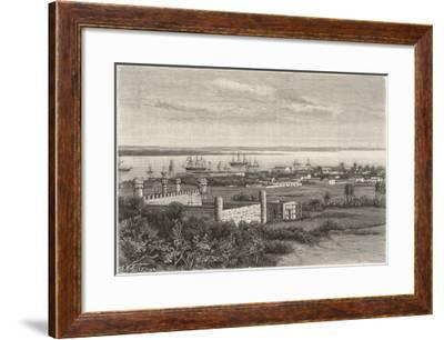 Delagoa, Mozambique, South-East Africa: General View--Framed Giclee Print