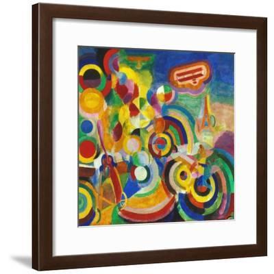 Delaunay: Hommage Bleriot-Robert Delaunay-Framed Giclee Print