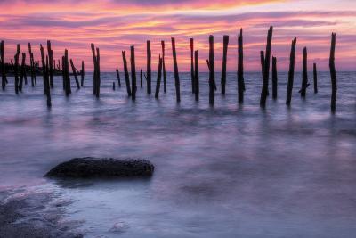 Delaware Bay Sunrise-michaelmill-Photographic Print