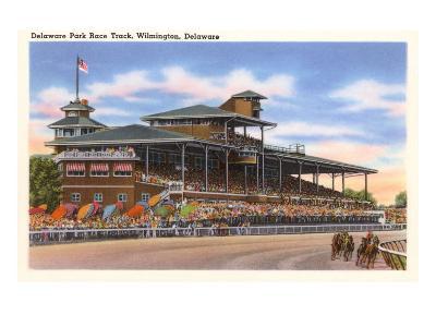 Delaware Park Race Track, Wilmington, Delaware--Art Print