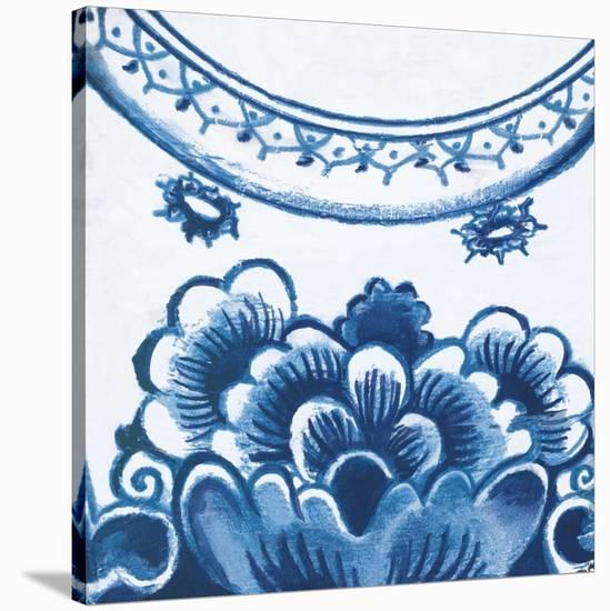 Delft Design III-Sue Damen-Stretched Canvas Print