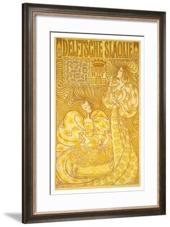Delft Salad Oil-Jan Toorop-Framed Art Print