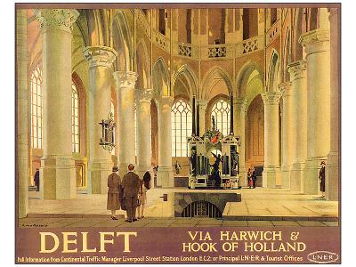 Delft-Anton van Anrooy-Art Print