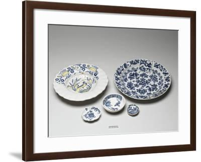 Delftware Pottery--Framed Photographic Print