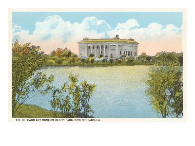 Delgado Art Museum, New Orleans, Louisiana--Art Print