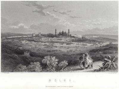 Delhi in India-J Ramage-Giclee Print