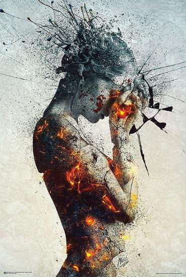 Deliberation-Mario Nevado-Art Print