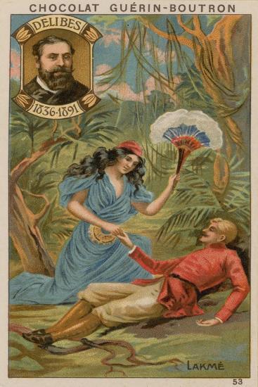 Delibes, Lakme--Giclee Print