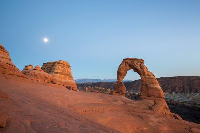 Delicate Arch during Sunset in Utah, Usa.-Victor Maschek-Photographic Print