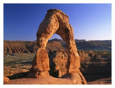 Delicate Arch in Arches National Park, Utah-Tim Fitzharris-Art Print