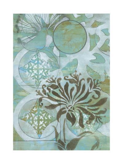 Delicate Collage I-Jennifer Goldberger-Premium Giclee Print