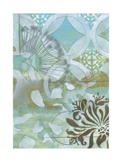 Delicate Collage II-Jennifer Goldberger-Premium Giclee Print