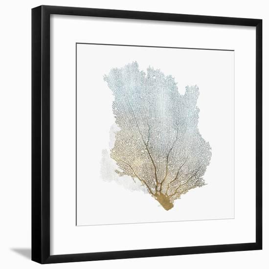 Delicate Coral I-Isabelle Z-Framed Art Print