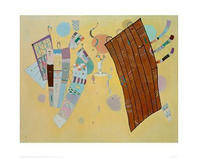 Delicate Tension, 1942-Wassily Kandinsky-Giclee Print