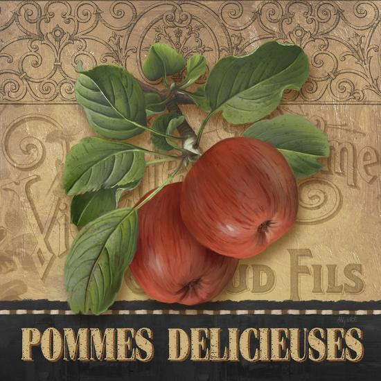 Delicious Apples-Abby White-Art Print