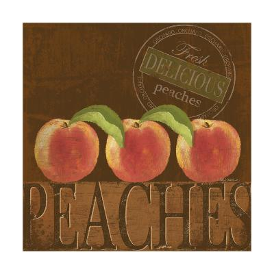 Delicious Peach-Kathy Middlebrook-Art Print