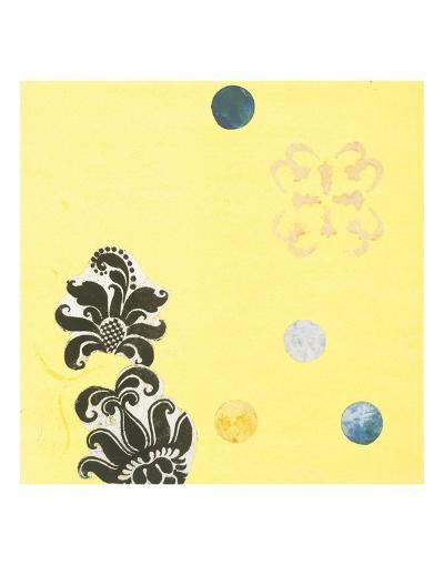 Delightful in Creamery Yellow I-Yafa-Art Print