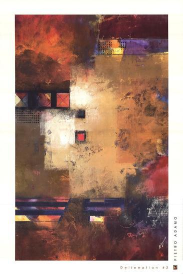 Delineation II-Pietro Adamo-Art Print