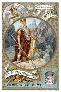 Odin, 1890-1910 by Delitz