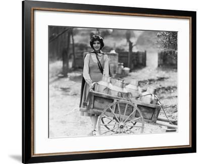 Delivering Milk--Framed Photo