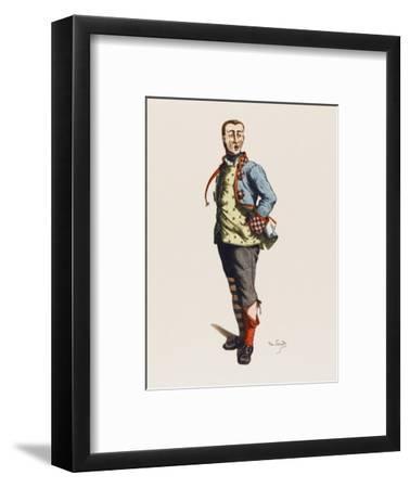 Dell'Arte Stenterello--Framed Giclee Print